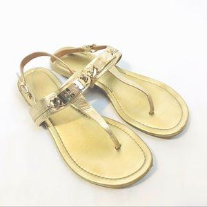 Coach Catherine Leather Sandals